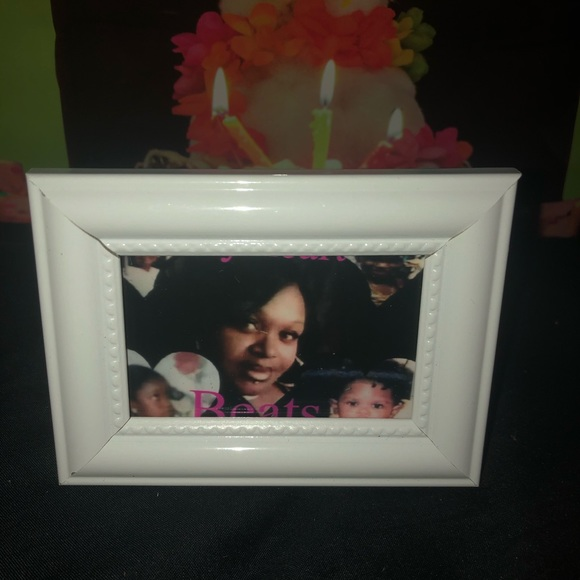 Picture frames and keychains